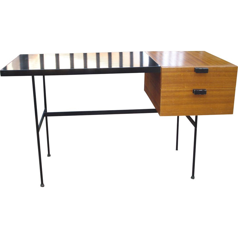 Vintage desk CM141 by Pierre Paulin for Thonet, 1954