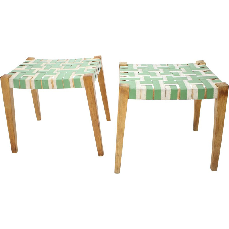 Pair of vintage Stools  1950