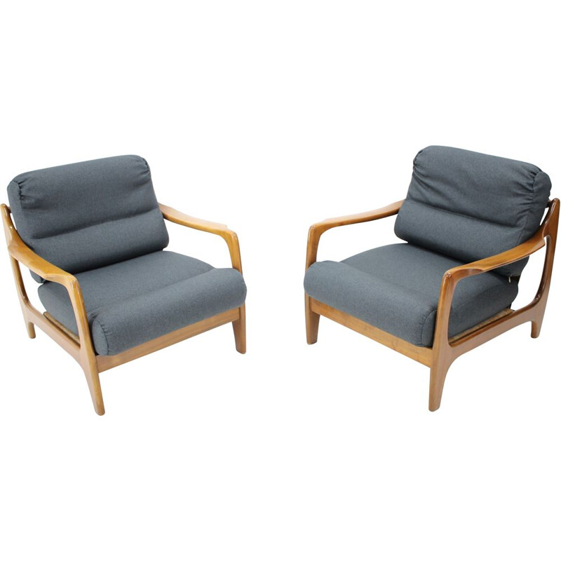 Pair of vintage Armchairs, Denmark, 1960