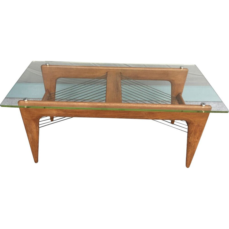 Vintage coffee table by Louis Sognot