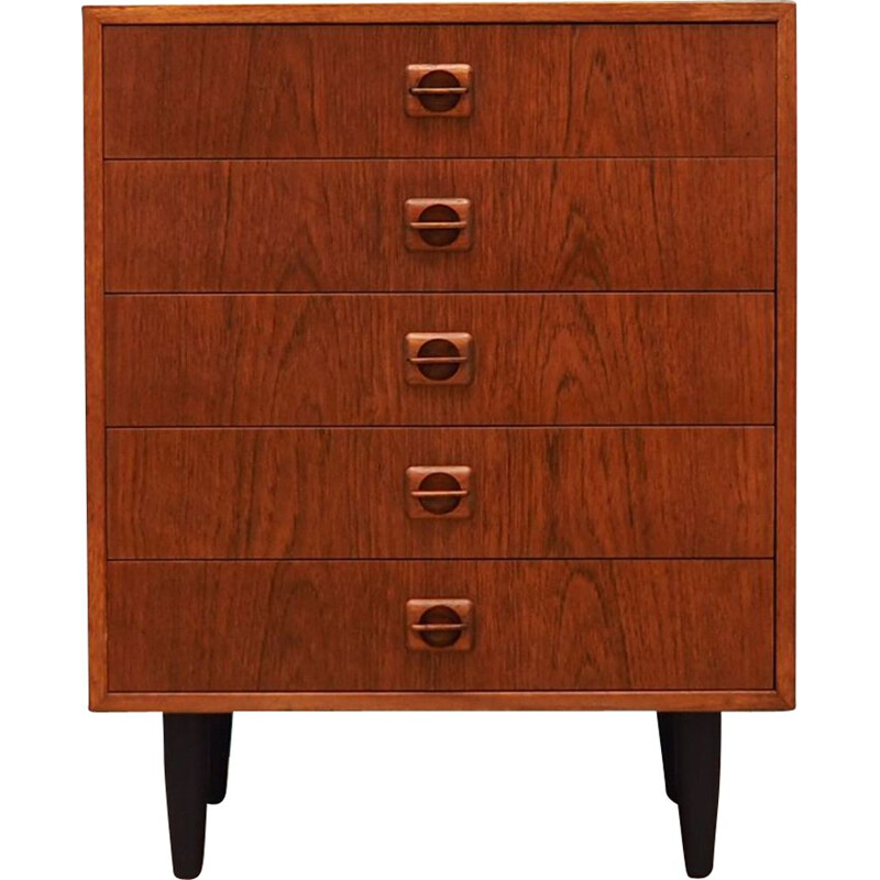 Vintage chest of drawers in teak 1960