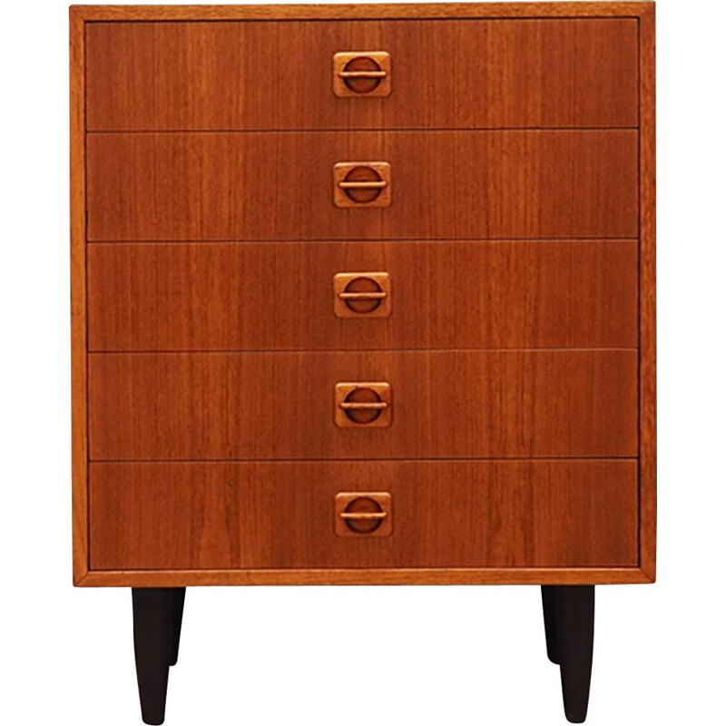Vintage danish chest of drawers,1960s