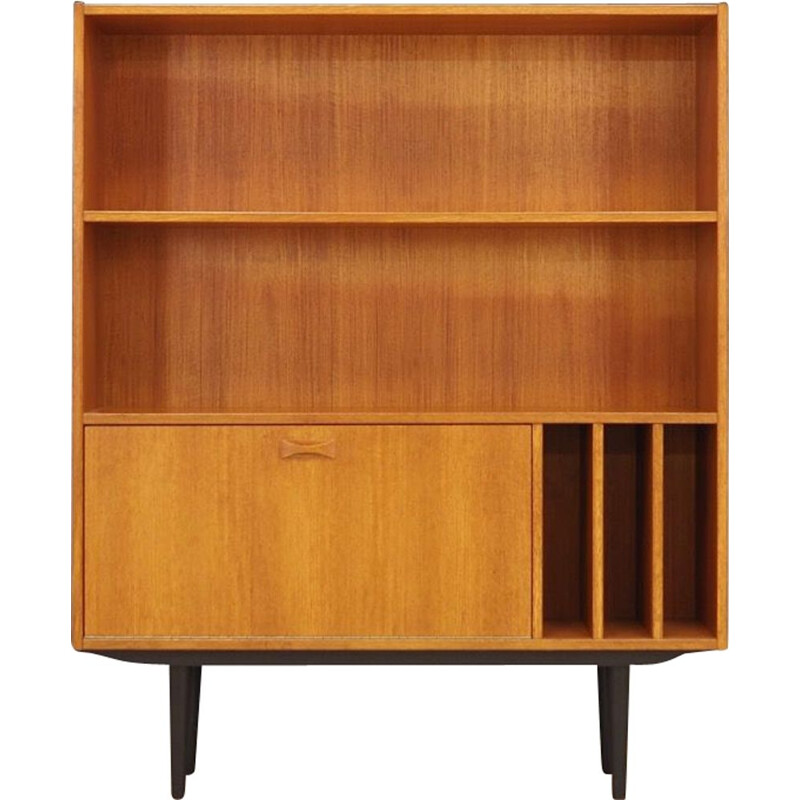 Teak vintage bookcase by Clausen and Son, 1970s