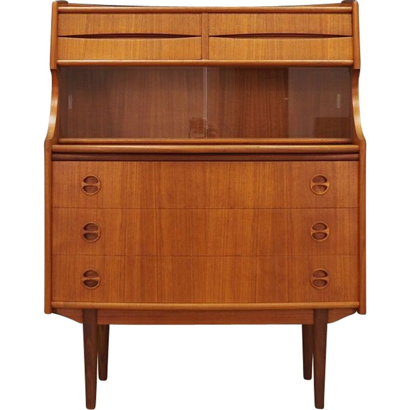 Vintage secretary in teak by Arne Vodder,1970