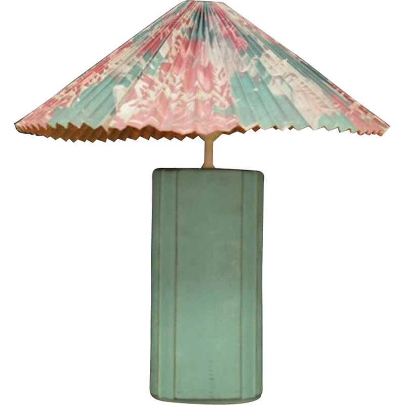 Vintage table lamp in ceramic by Klyhn Design