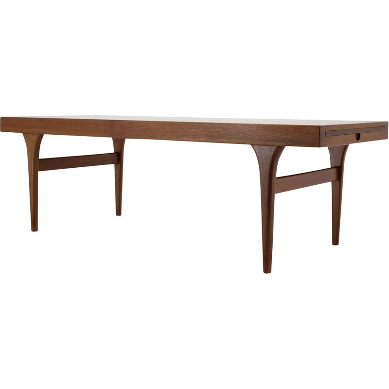 Vintage Johannes Andersen Teak Coffee Table for CFC Silkeborg 1960
