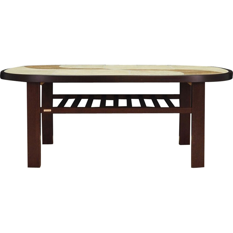Vintage beech coffee table 1970