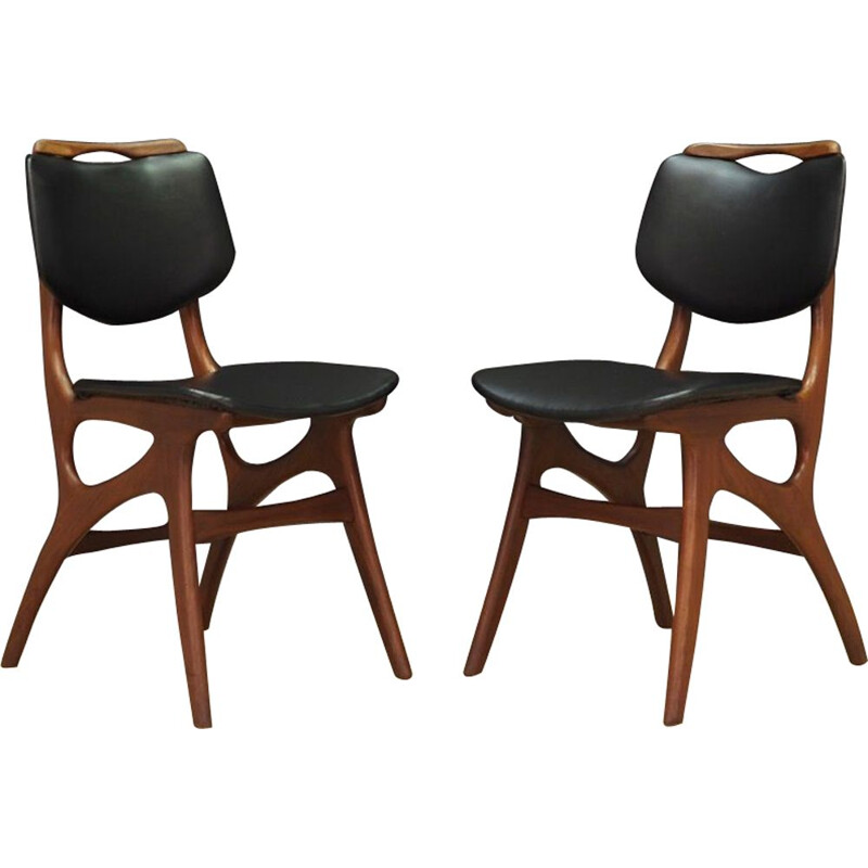 Set of 2 vintage Pynock chairs 1960-1970