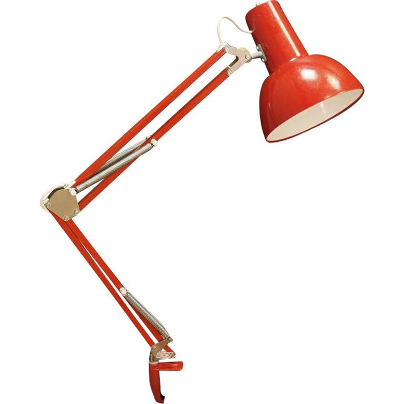 Vintage Maxam desk lamp in metal and plastic