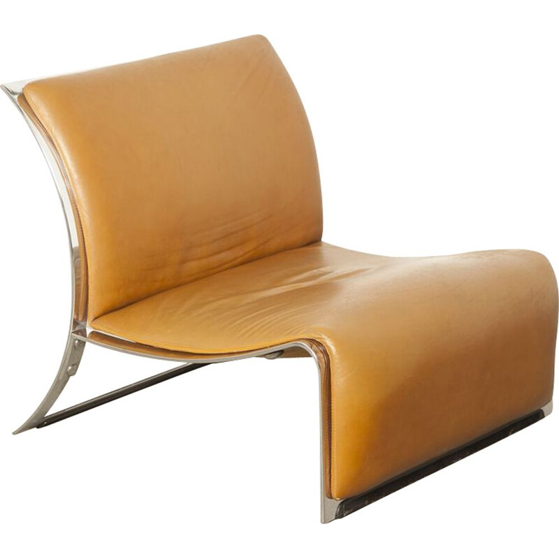 Vintage lounge chair by Vittorio Introini for Saporiti