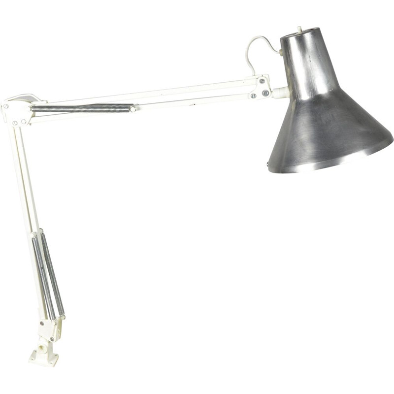 Vintage drawing lamp HCF type 85, Denmark 1960s