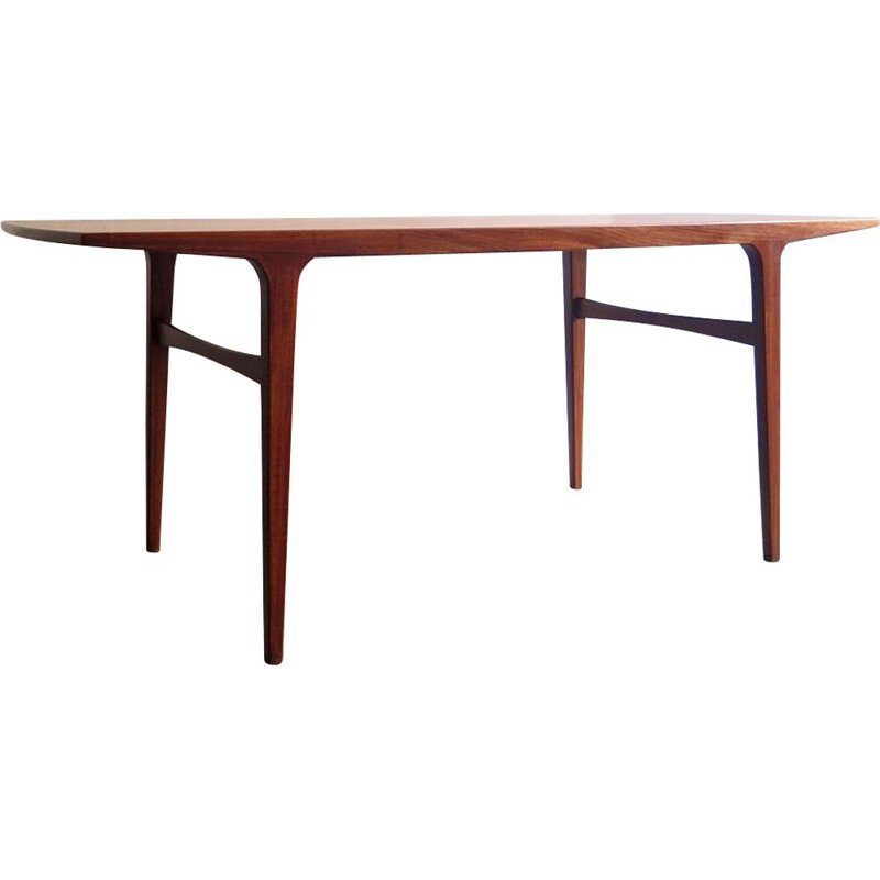 Vintage coffee table in teak, Denmark, 1960s