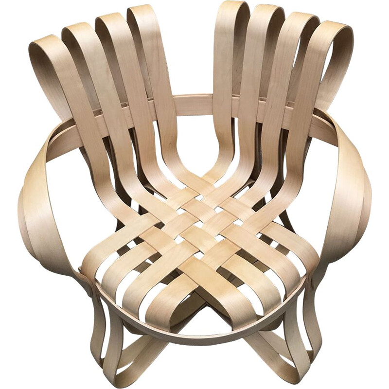 Vintage armchair by Franck Gehry for Knoll, 1990