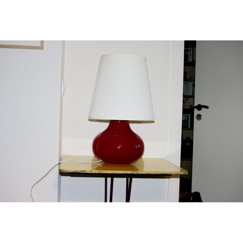 Vintage ball lamp by Vistosi for Murano