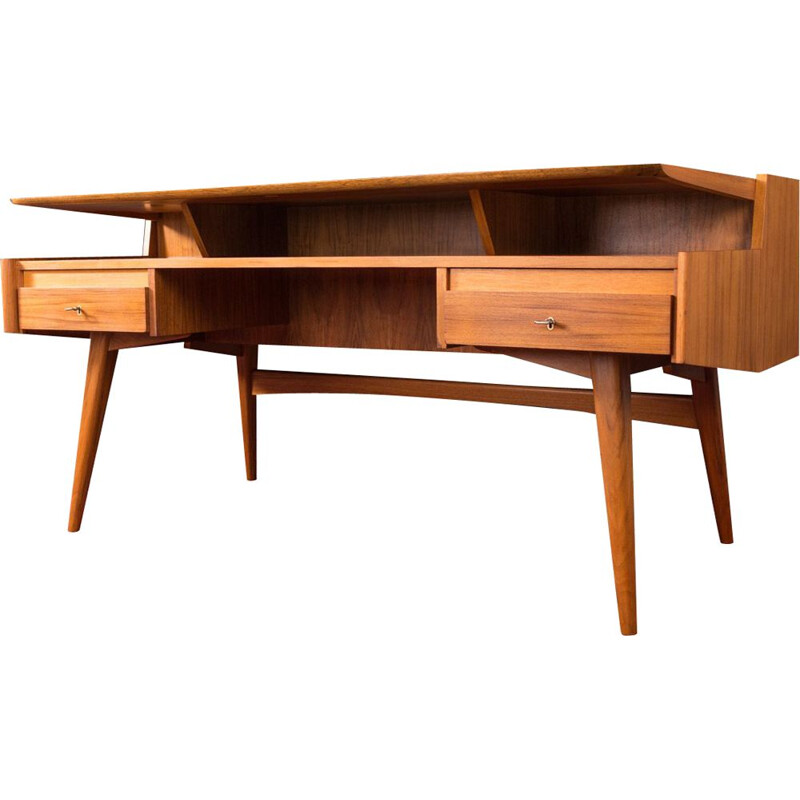 Vintage Desk by WK Möbel 1950s