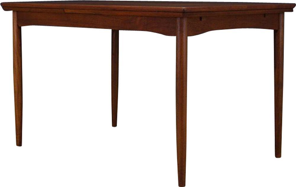 Extendable Vintage Dining Table In Teak Design Market