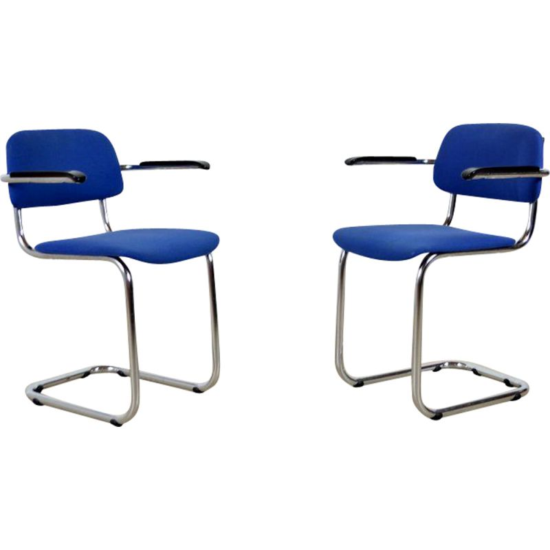 Vintage Luge Gispen Chairs 1960
