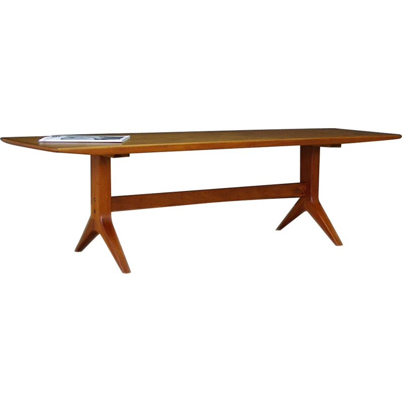 Vintage teak coffee table, Denmark, 1960-70