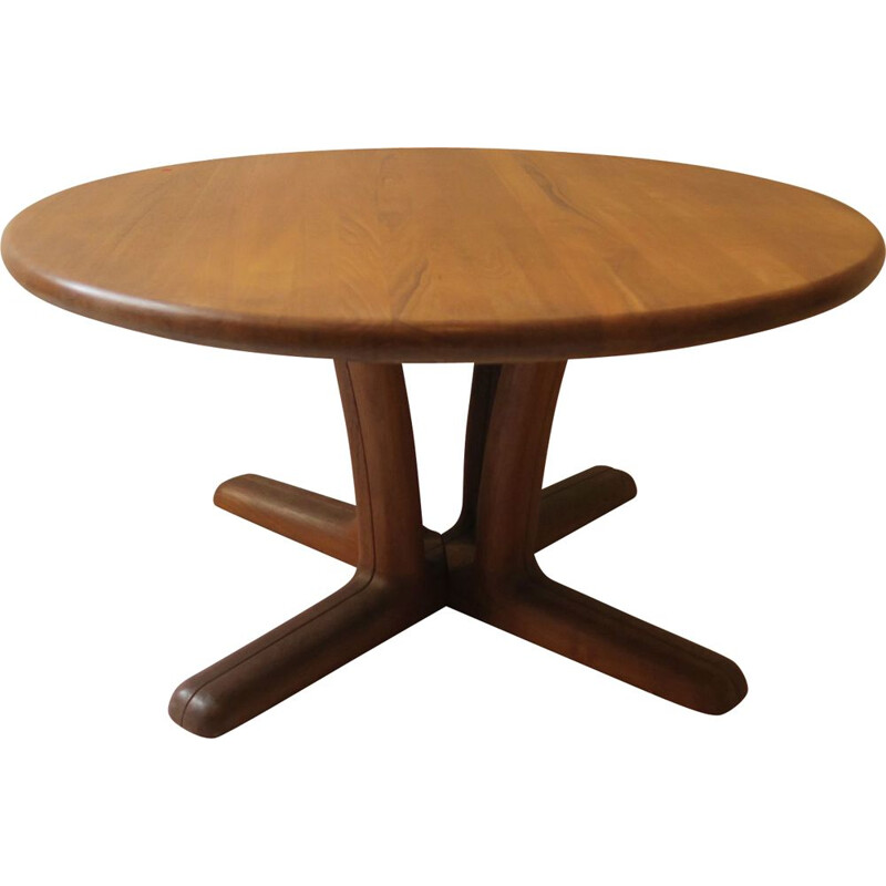 Vintage Scandinavian teak coffee table by Dyrlund Smith
