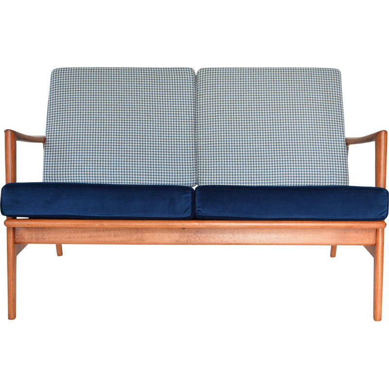 BERLIN vintage 2-seater bench seat