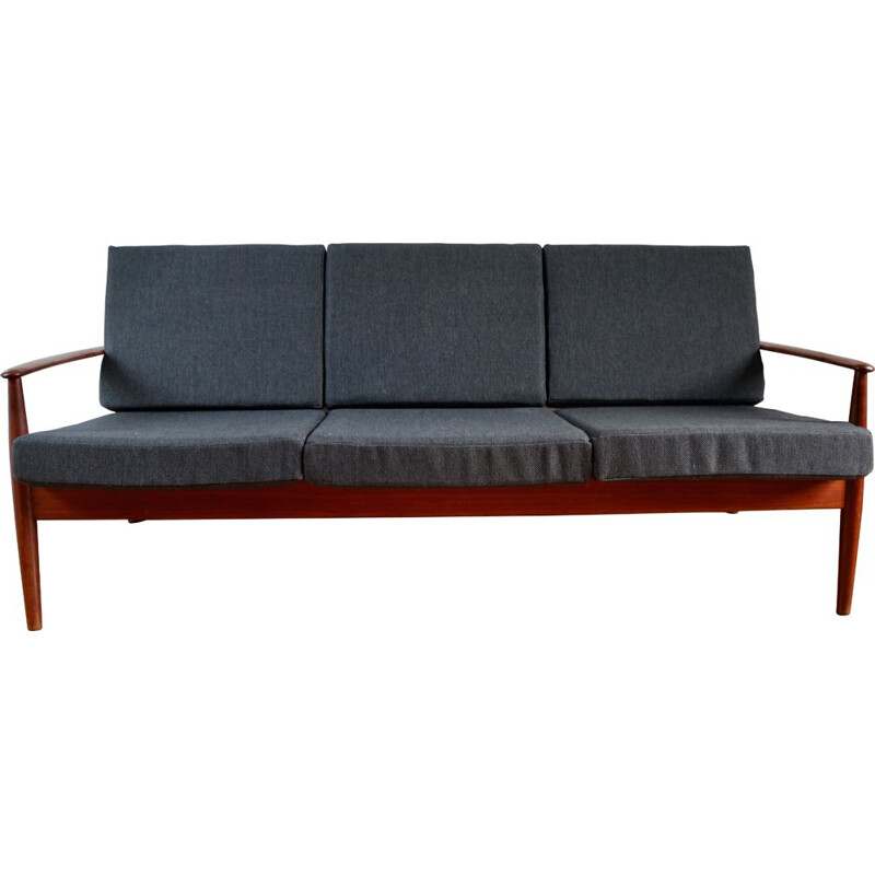Vintage Scandinavian teak bench by Grete Jalk for France & Son - 1960