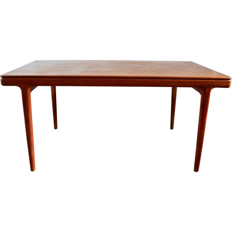 Scandinavian teak table by Johannes Andersen, 1960