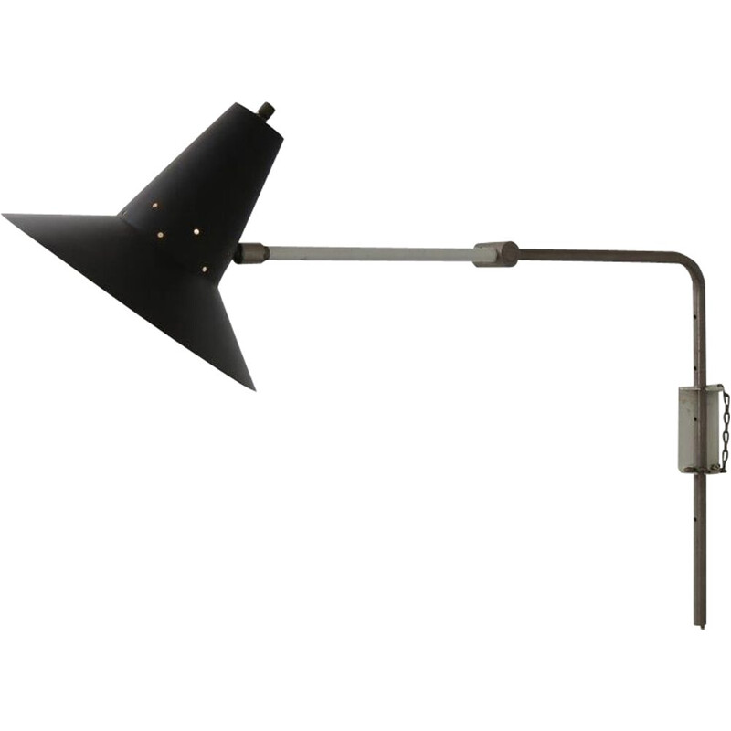 Vintage Elbow lamp by Anvia, 1950s