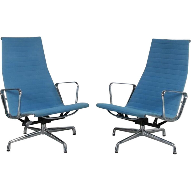 Vintage EA124 armchairs by Charles & Ray EAMES,  2000s