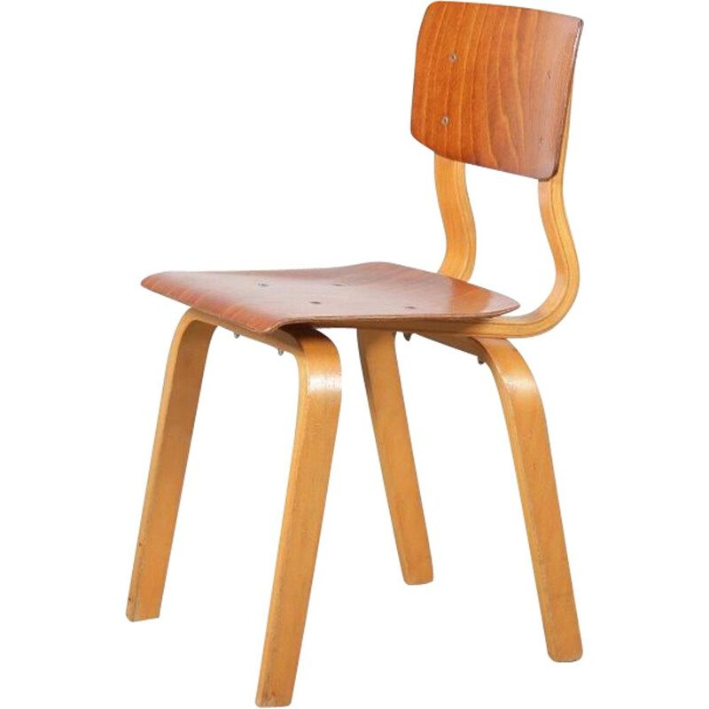 Vintage Plywooden kids chair, 1960s