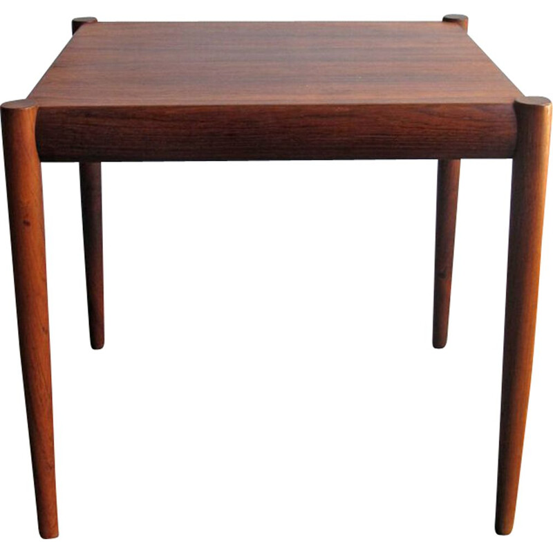 Vintage rosewood side table, Denmark, 1950s