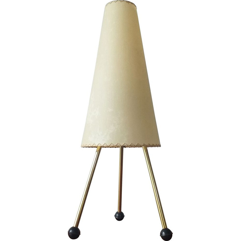 Vintage Tripod Table Lamp, Germany, 1960s