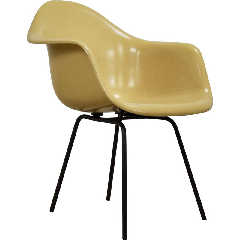 Vintage fiberglass armchair by Charles & Ray Eames for Herman Miller