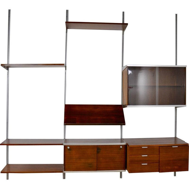 Vintage wall Unit by George Nelson for Mobilier international, 1960s