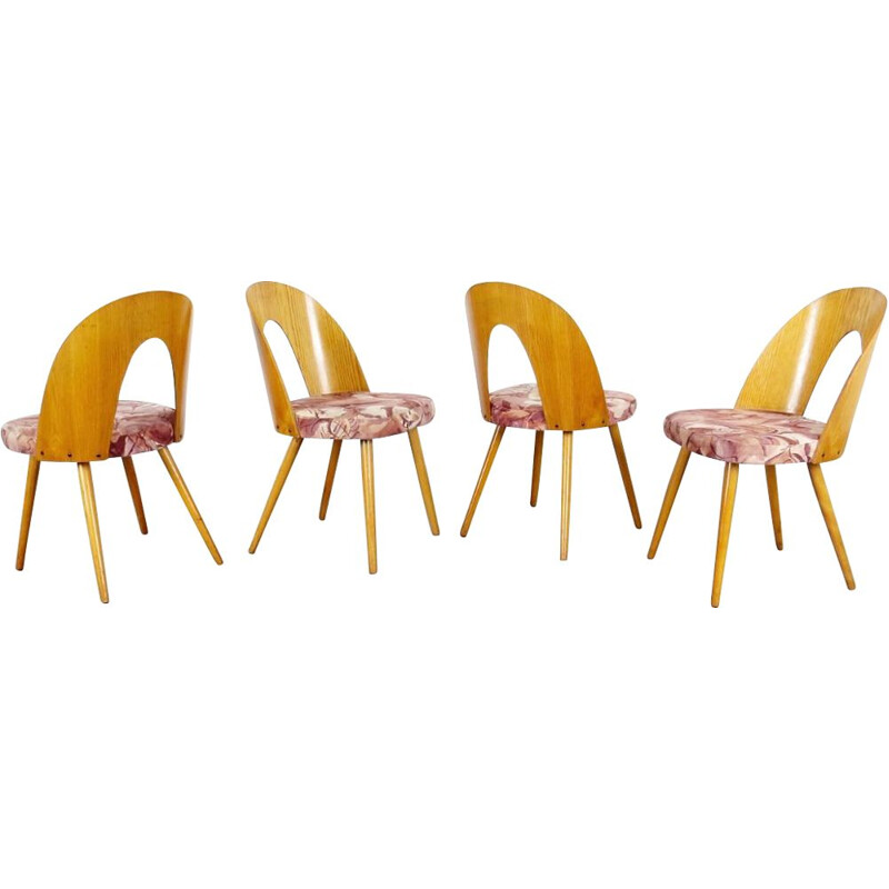 Set of dining chairs by Antonin Suman, 1960s
