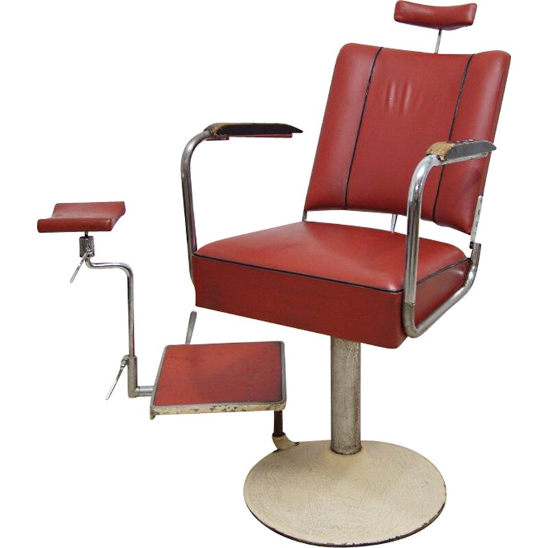 **ELG**Vintage industrial medical chair from Suda, 1930s