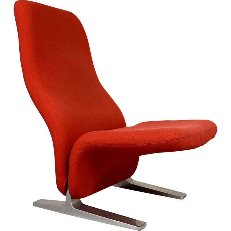 Vintage F780 Concorde lounge chair by Pierre Paulin for Artifort, 1960s