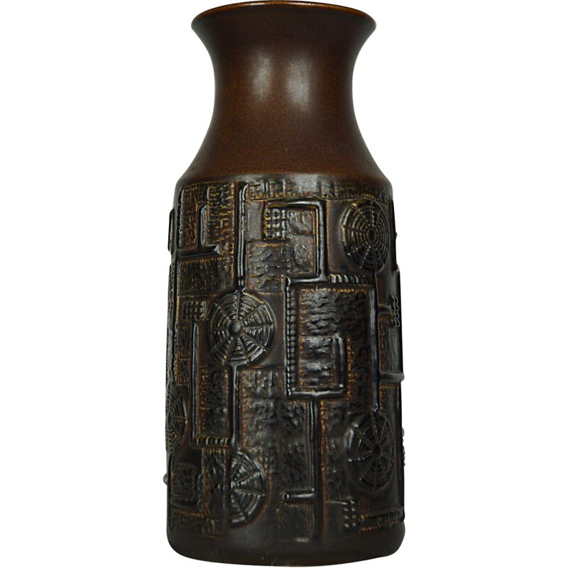 Vintage model 954-30 ceramic vase by Bodo Mans for Bay Keramik