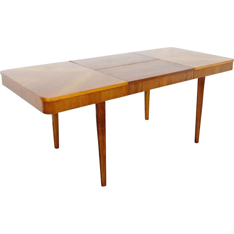 Vintage folding dining table  by Jindrich Halabala, 1940