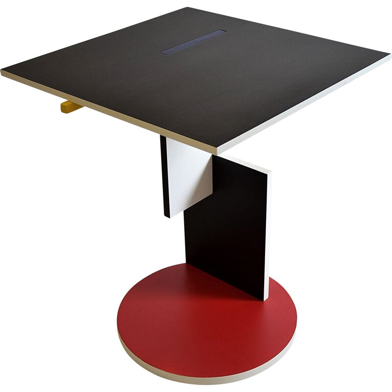 "Vintage ""Schroeder 1"" side table by Gerrit Rietveld for Cassina"
