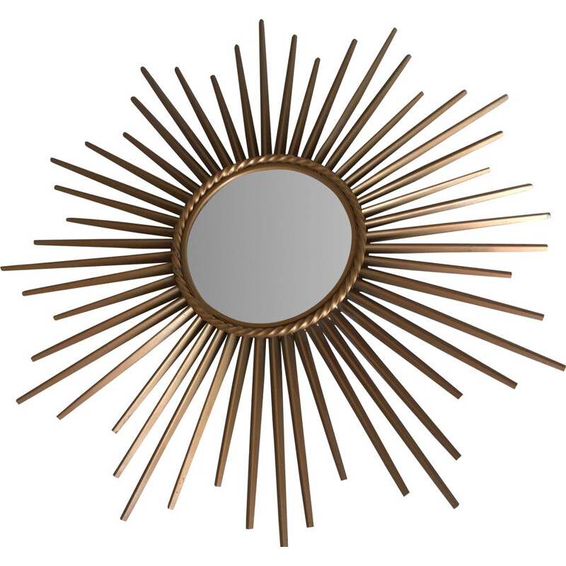 "Vintage mirror ""soleil"" by Chaty Vallauris, 1960"