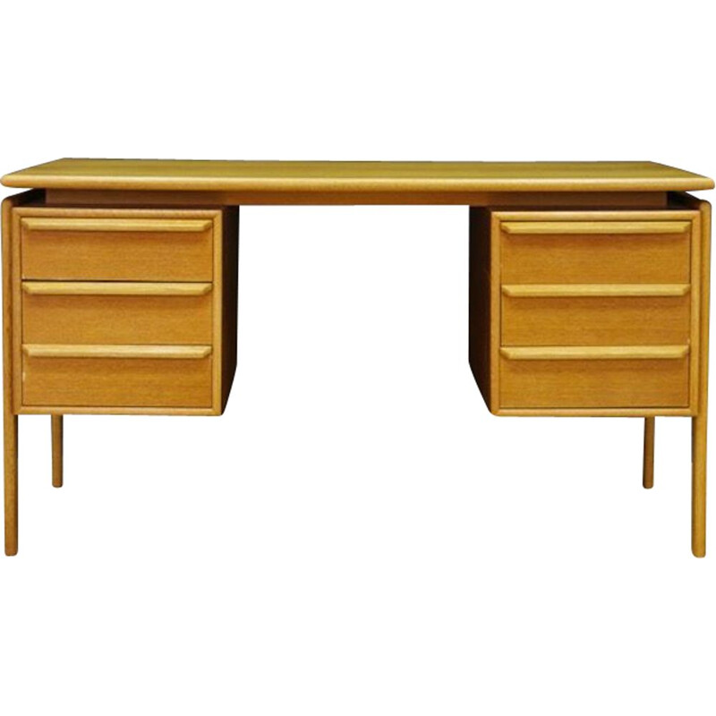Vintage desk by GV Møbler in ashwood, 1960s