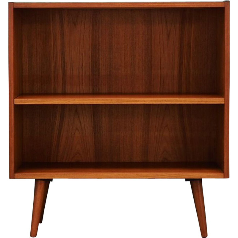 Vintage small bookcase in teak, 1960-70s