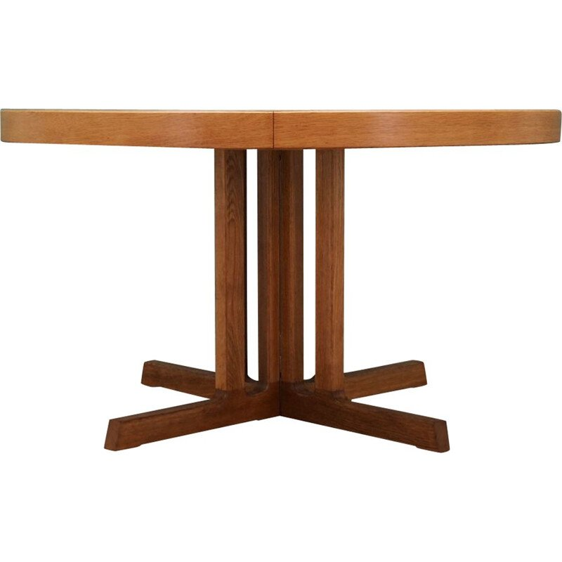 Vintage ash dining table by Johannes Andersen, 1960-70s