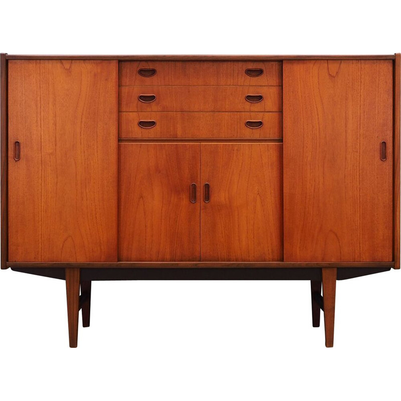 Vintage Westergaard highboard in teak, 1960-1970