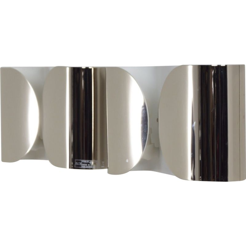 Pair of vintage Foglio wall lamp  by Tobia Scarpa for Flos, 2000s