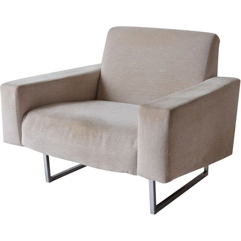 Courchevel vintage armchair by PIERRE GUARICHE, witness seats, 1959