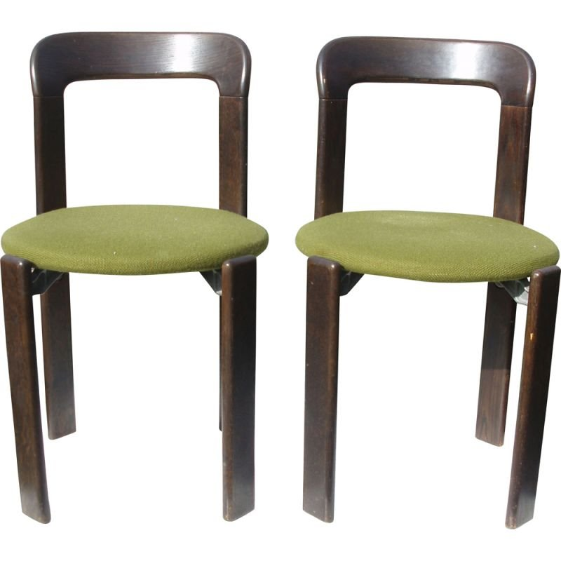 Pairs of Vintage Chairs by Bruno rey
