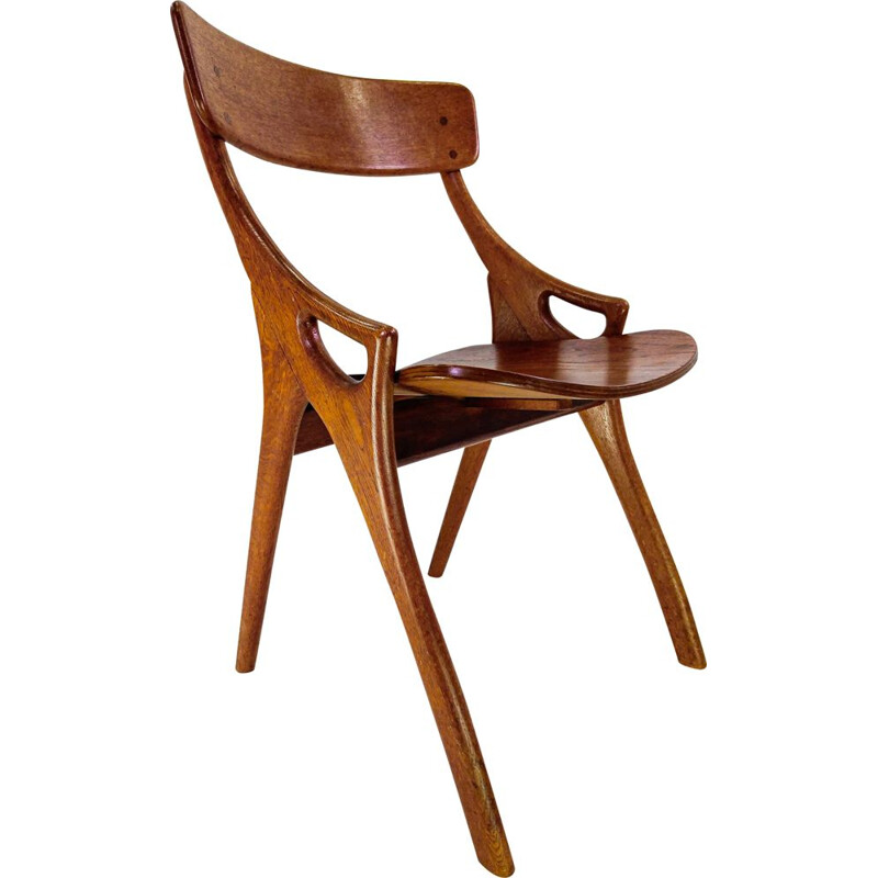 Vintage Danish Dining Chair by Hovmand Olsen for Mogens Kold, 1960s