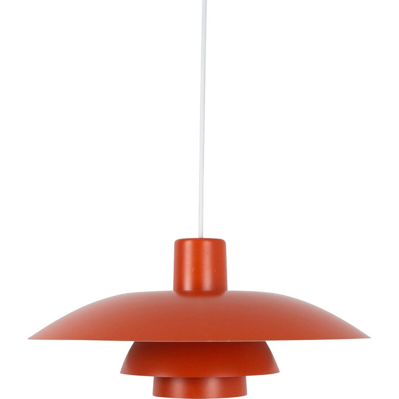 Vintage Danish hanging lamp PH 43 by Poul Henningsen for Louis Poulsen,  Denmark 1966