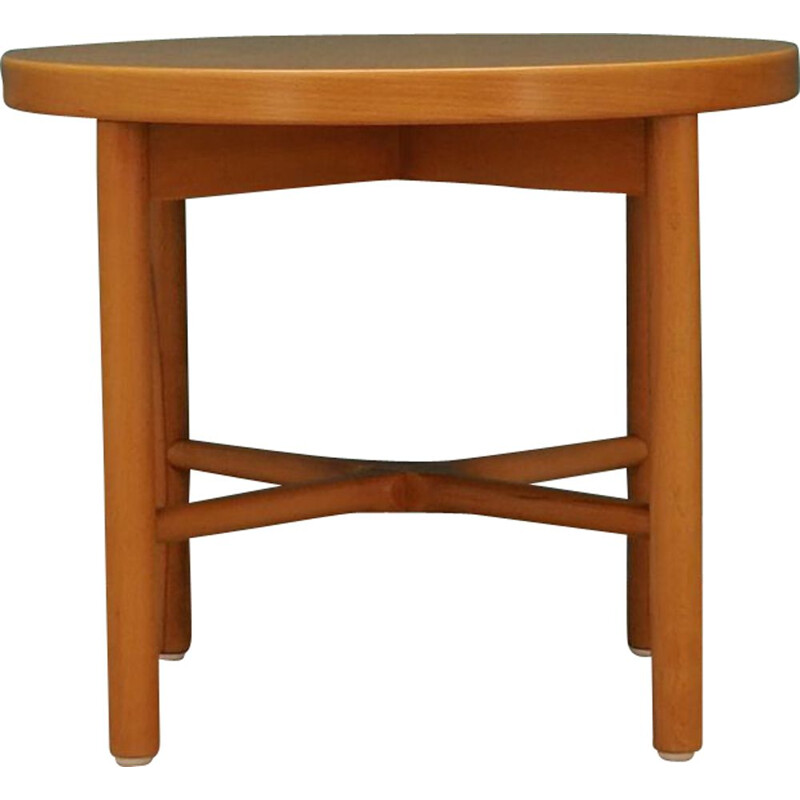 Vintage coffee table in beech wood by Farstrup, 1960-1970
